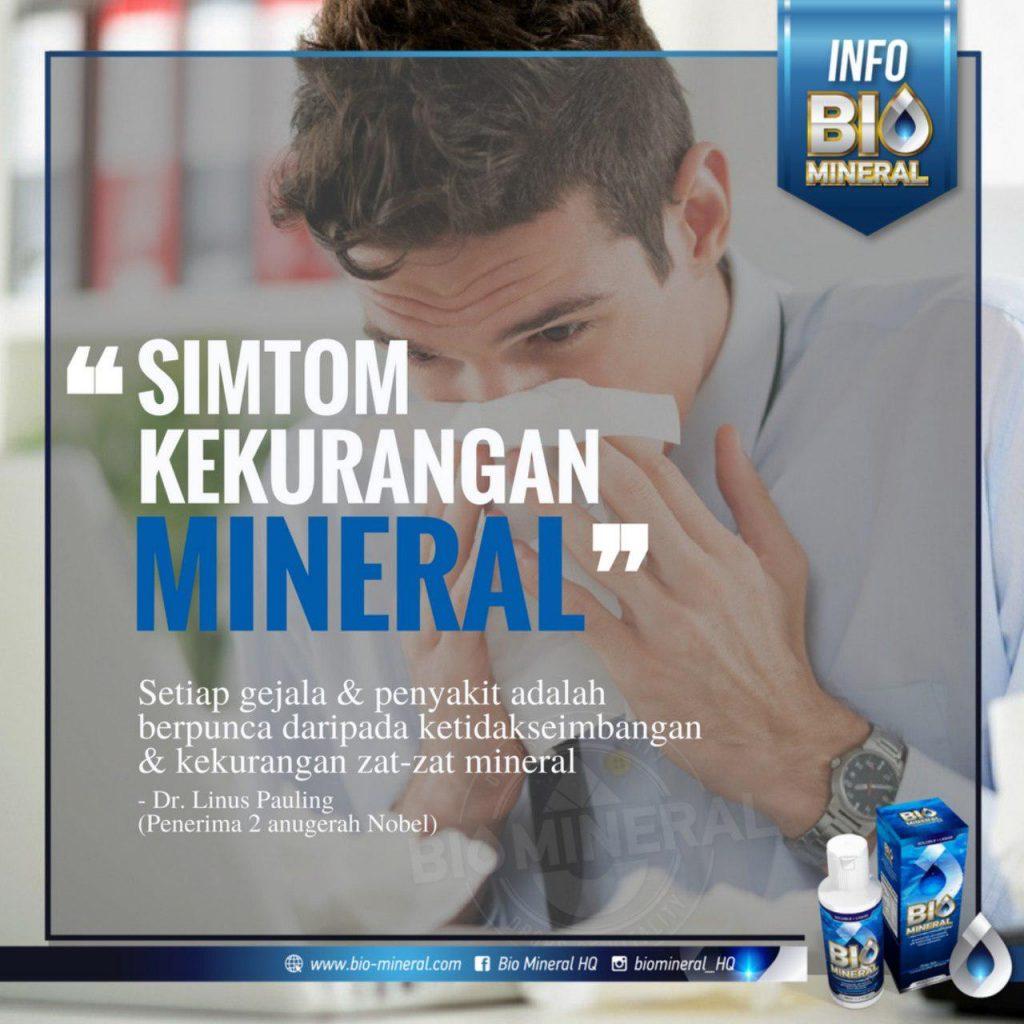 atasi masalah kesihatan dengan produk bio mineral