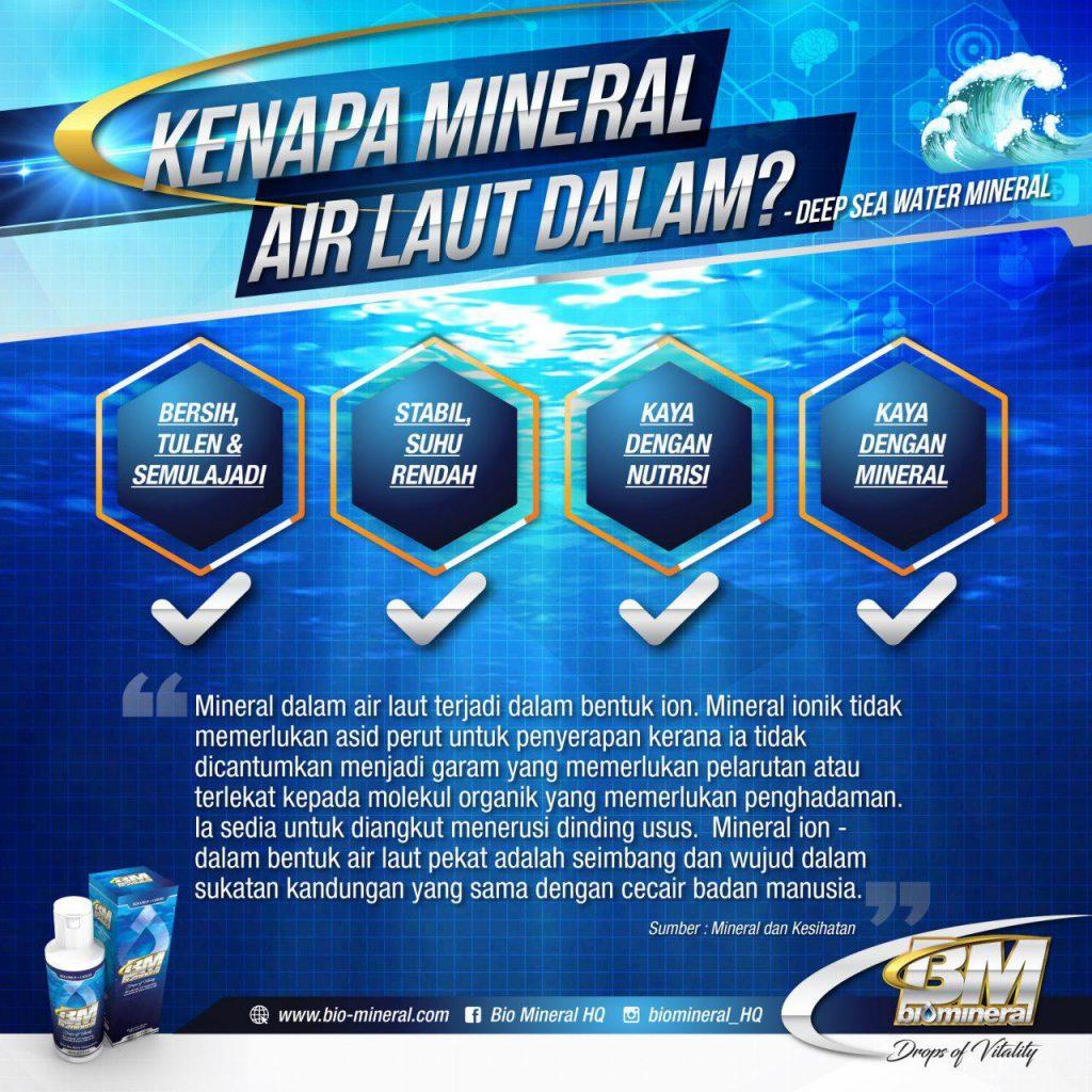 sumber asal mineral untuk produk bio mineral untuk kesihatan ini
