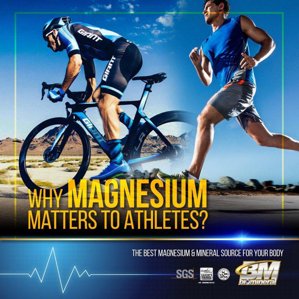 keperluan magnesium kepada ahli sukan untuk kekal cergas dan bertenaga tanpa keletihan