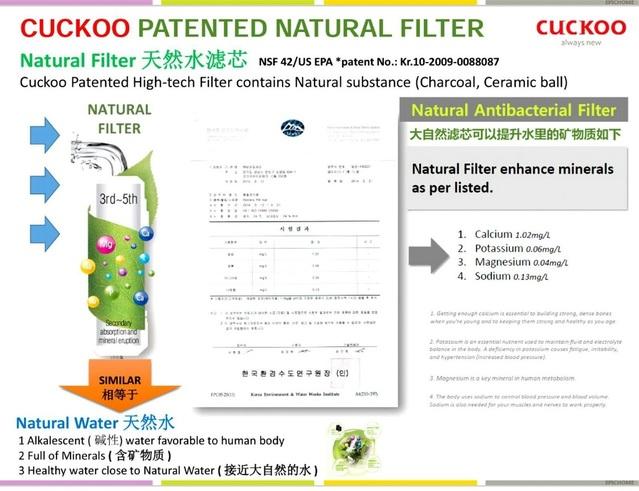 mencari water filter terbaik di malaysia 2019 ini penapis air cuckoo natural water