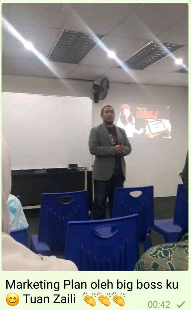 peluang perniagaan dan potensi income pendapatan dalam astar oleh tuan zaili
