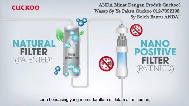 cuckoo vs coway penapis air terbaik water filter terbaik berkualiti halal murah di malaysia 2019