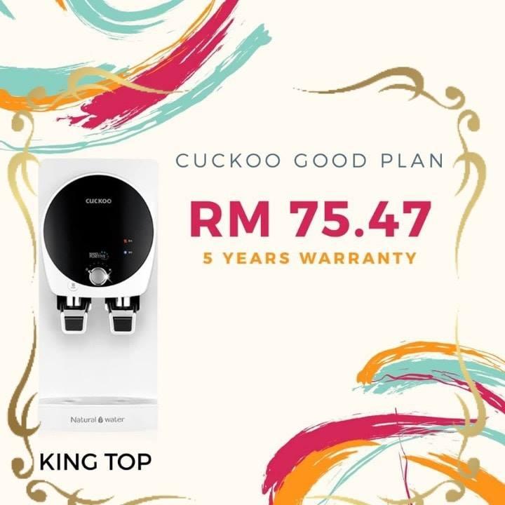 cara nak pasang cuckoo king top