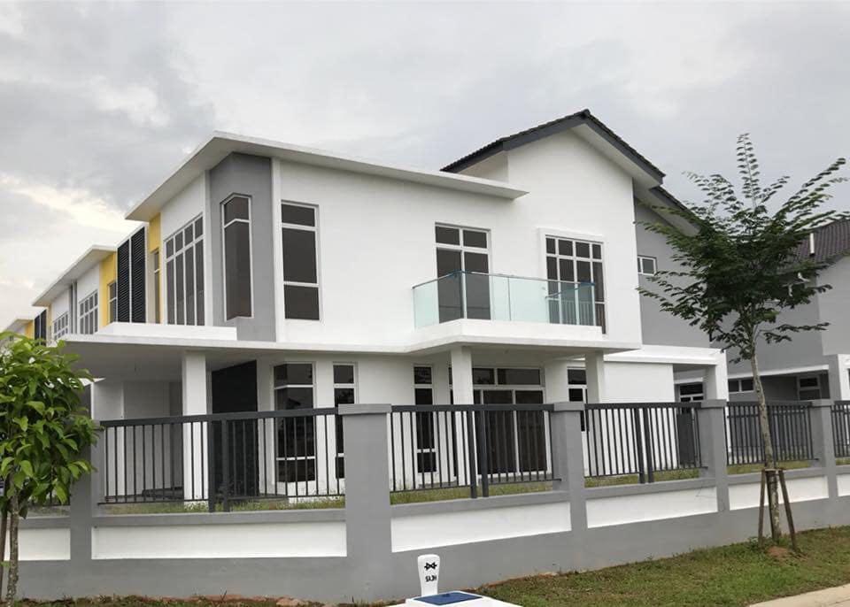 rumah untuk dijual di taman mutiara rini skudai johor jalan bakti jalan utama jalan jasa