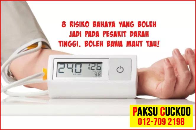 bahaya penyakit tekanan darah tinggi yang perlu dikawal dan dirawat awal untuk mengelakkan pelbagai masalah kesihatan yang buruk