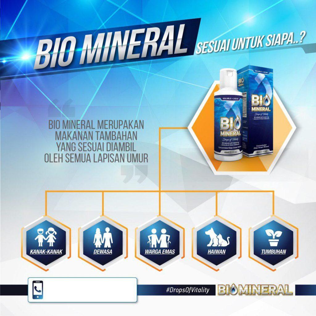 biomineral penawar penyakit yang mujarab dan berkesan untuk semua peringkat umur kanak kanak dewasa warga emas haiwan serta tumbuhan