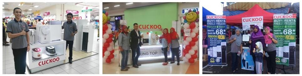 jana pendapatan lumayan dengan bina kerjaya bersama cuckoo di seluruh malaysia