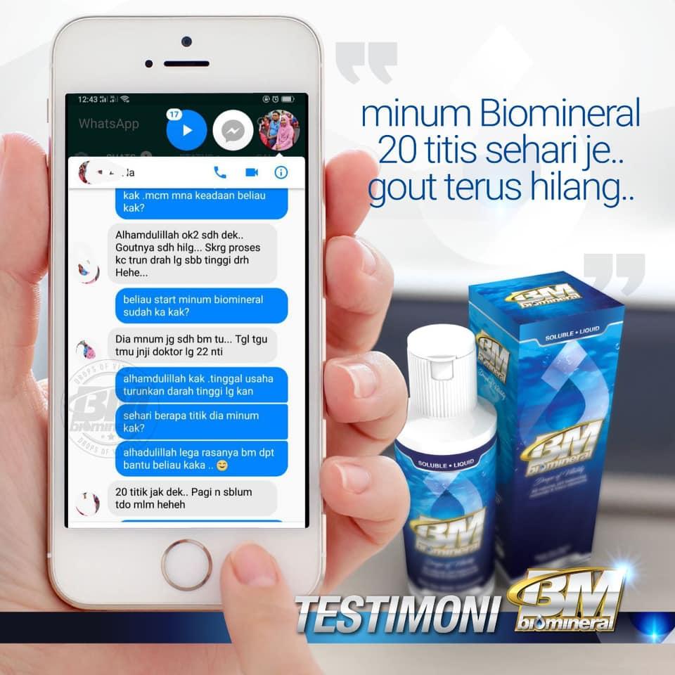 cara sembuhkan dan merawat penyakit gout dengan cepat pantas dan berkesan menggunakan biomineral