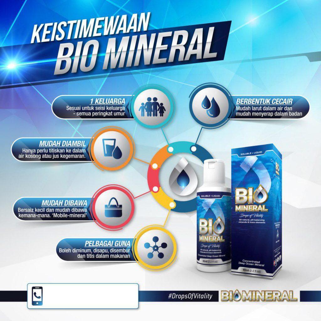 keistimewaan biomineral untuk seisi keluarga sebagai penawar atau rawatan alternatif kepada pelbagai masalah penyakit tubuh dan kesihatan