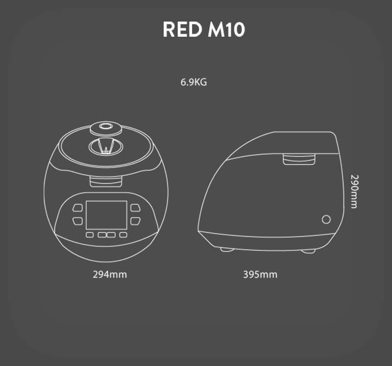 kelebihan periuk serbaguna cuckoo spesifikasi pressure multi cooker red m10 cuckoo
