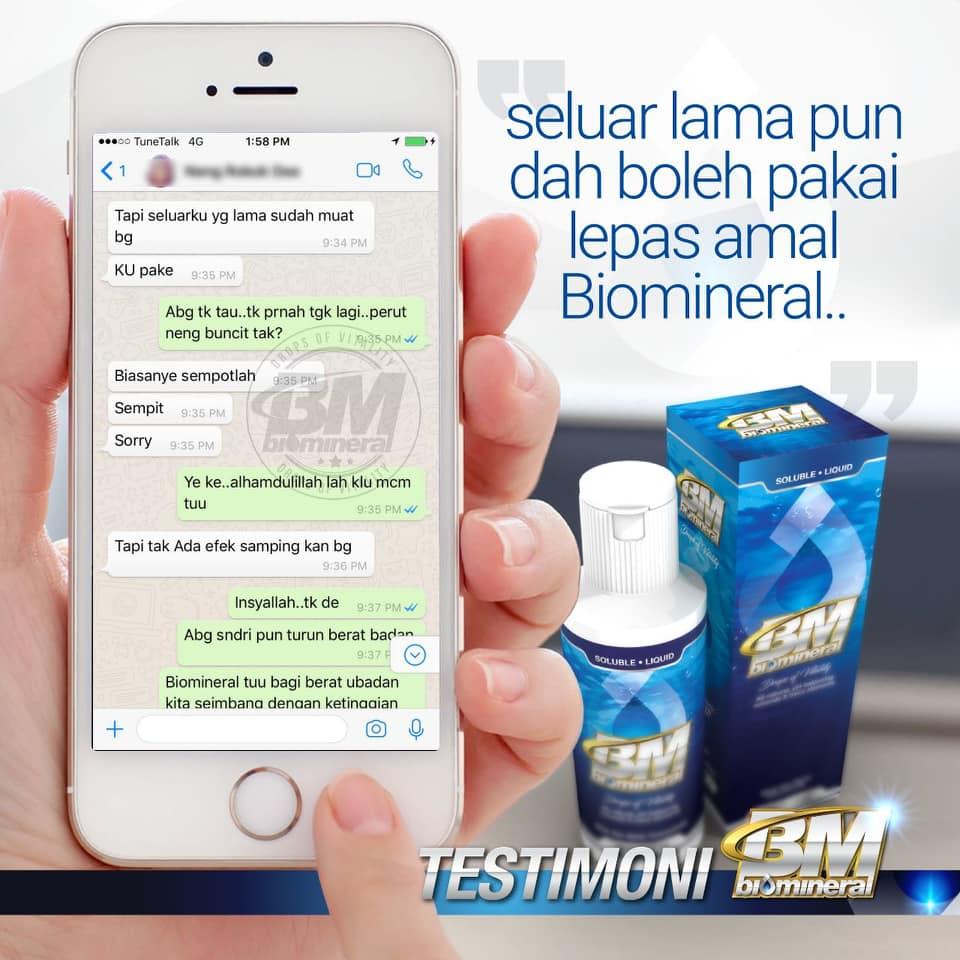 testimoni biomineral untuk turunkan berat badan dengan pantas cepat dan berkesan kuruskan badan dengan selamat