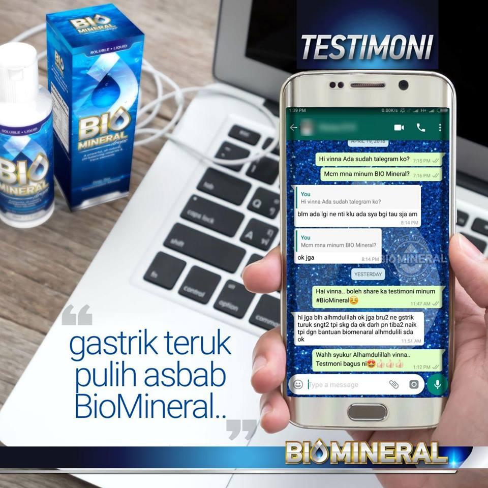 testimoni sakit gastrik teruk dan kronik sembuh dengan penawar gastrik yang mujarab dan ubat gastrik yang berkesan dan semulajadi iaitu biomineral
