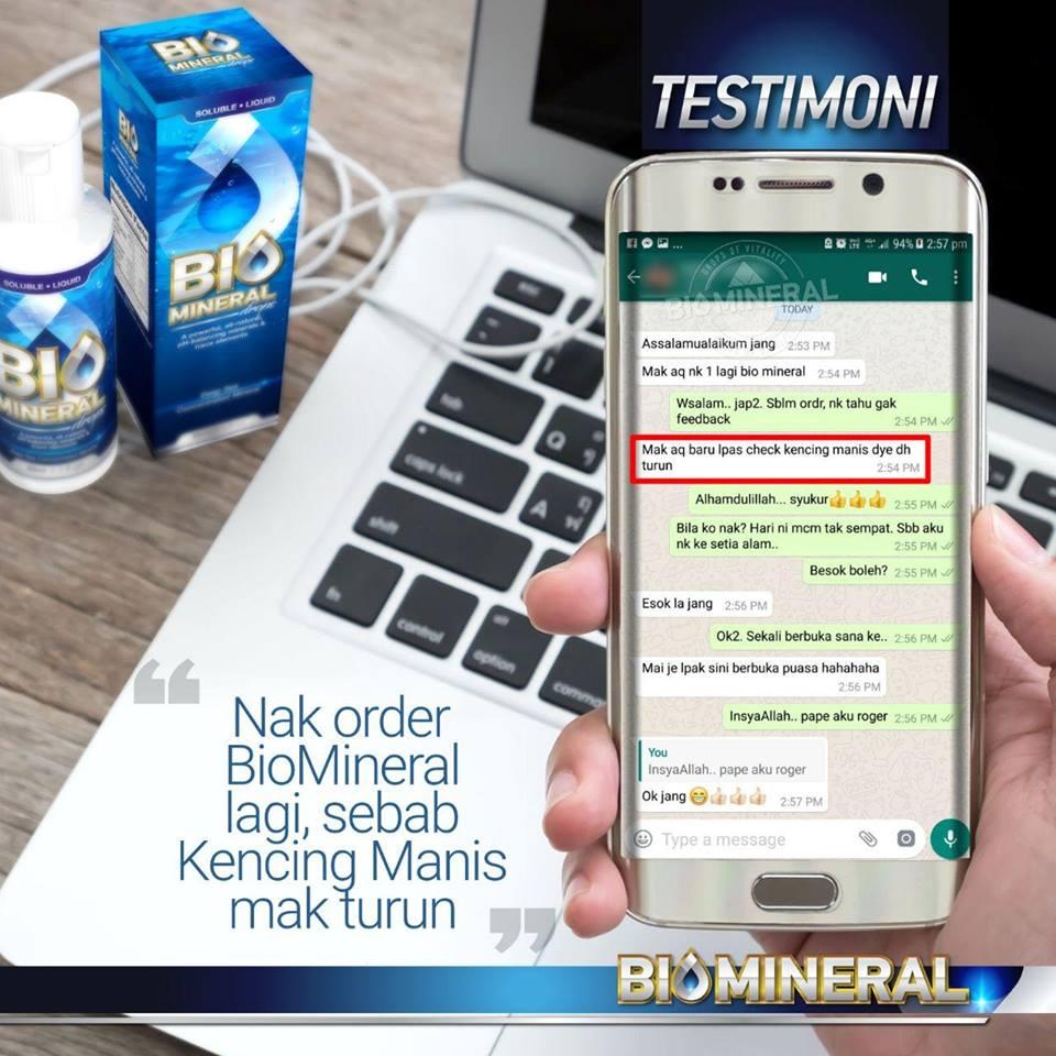 testimoni ubat kencing manis penyakit bacaan gula kencing manis turun selepas guna biomineral ini