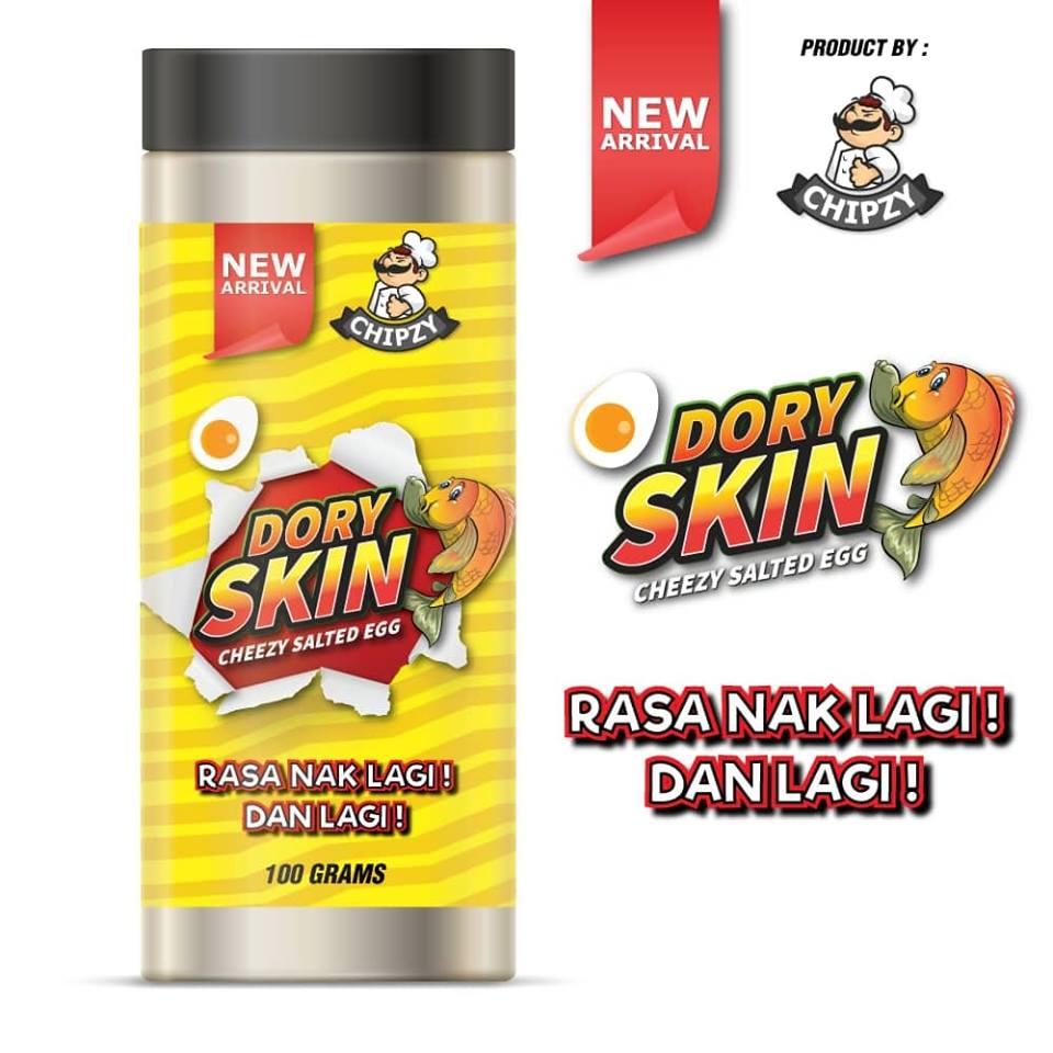 beli dory skin salted egg snek makanan ringan yang paling best dan sedap di malaysia 2019