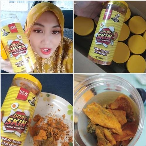 beli snek makanan ringan paling sedap dan viral di malaysia 2019 ini dory skin chezzy salted egg