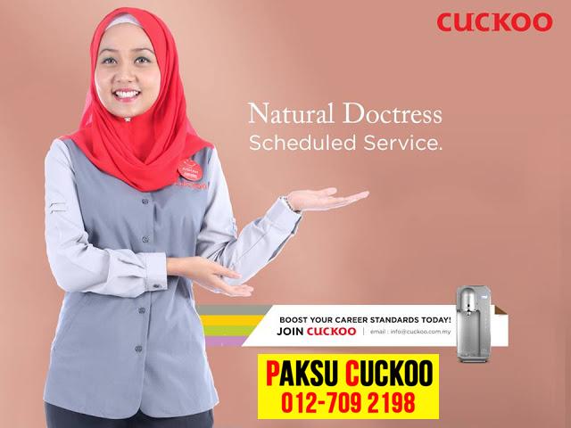 khidmat servis penapis air cuckoo terengganu yang professional dan terbaik