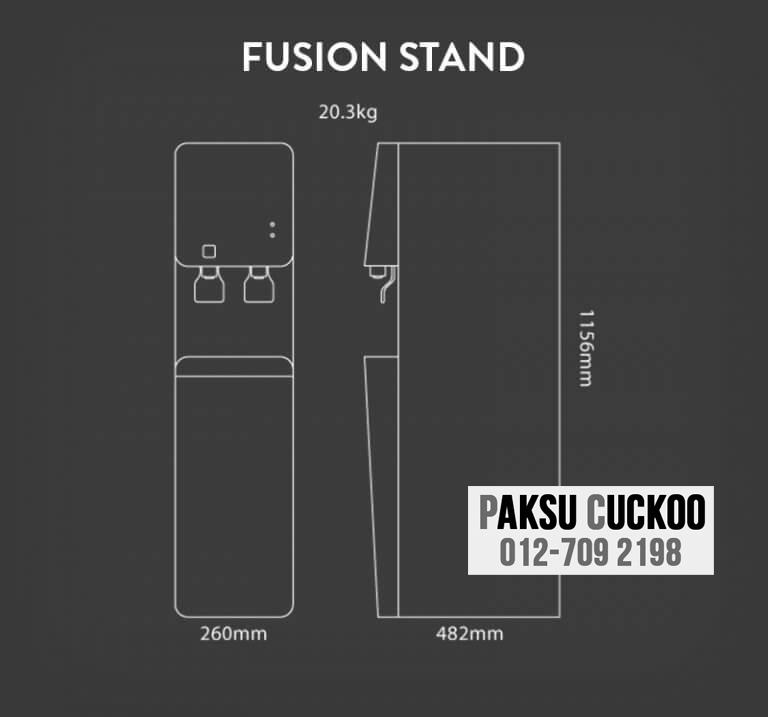 pasang penapis air cuckoo fusion stand dengan spesifikasi dan review penapis air yang terbaik di malaysia bagaimana atau macam mana nak jadi agen cuckoo