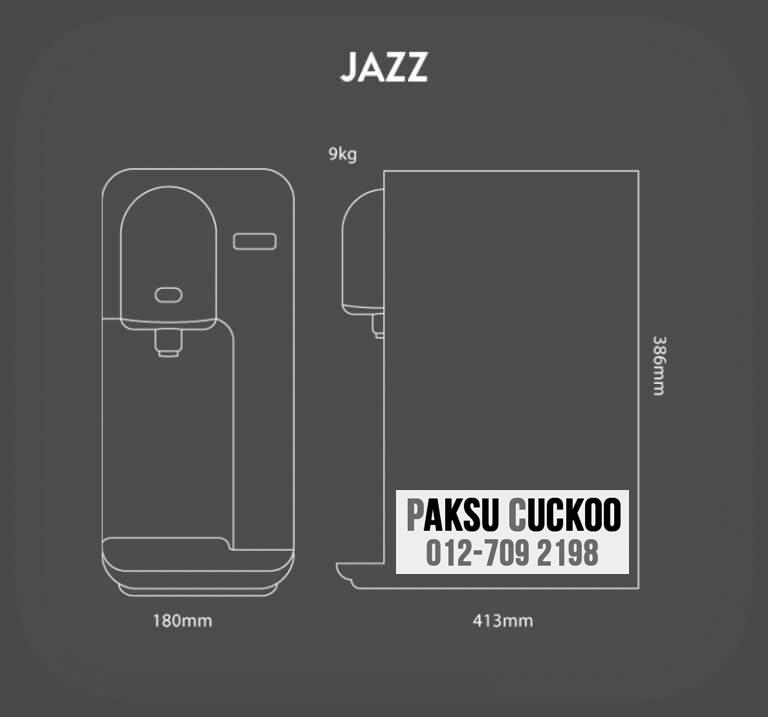 pasang penapis air cuckoo jazz dengan spesifikasi dan review penapis air yang terbaik di malaysia bagaimana atau macam mana nak jadi agen cuckoo