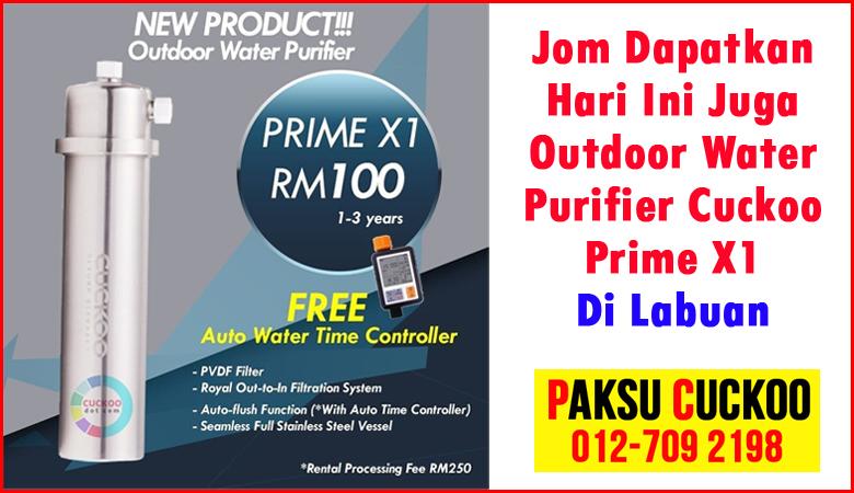 buy online cuckoo outdoor water purifier labuan beli online mesin penulen air luar rumah yang terbaik paling bagus murah berkualiti