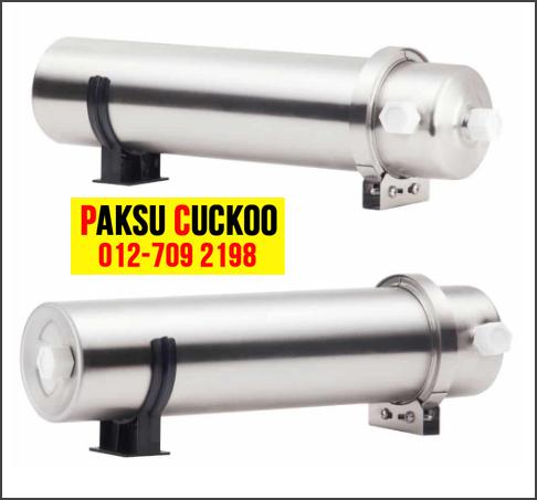 kelebihan dan kebaikan cuckoo outdoor water purifier pahang kuantan mesin penulen air luar rumah yang berkualiti tinggi best review spec terbaik