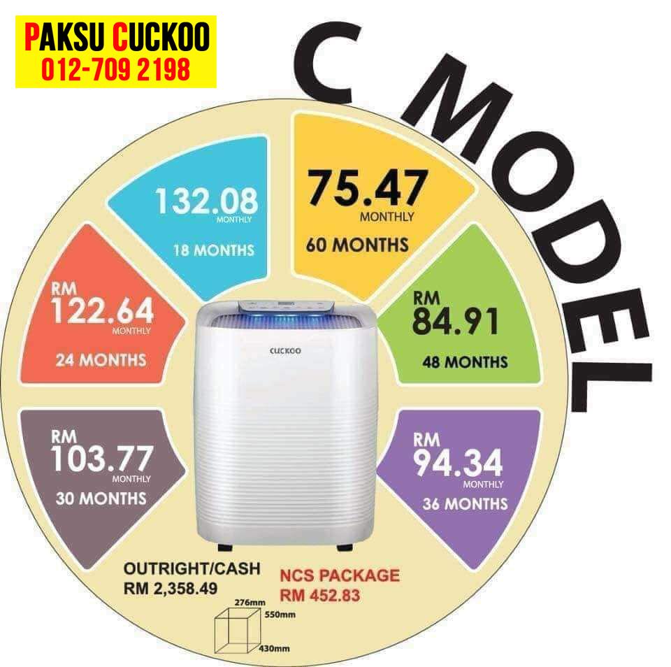 register daftar beli pasang penapis udara cuckoo c model penapis udara yang paling murah terbaik dan berkualiti berbanding penapis udara coway