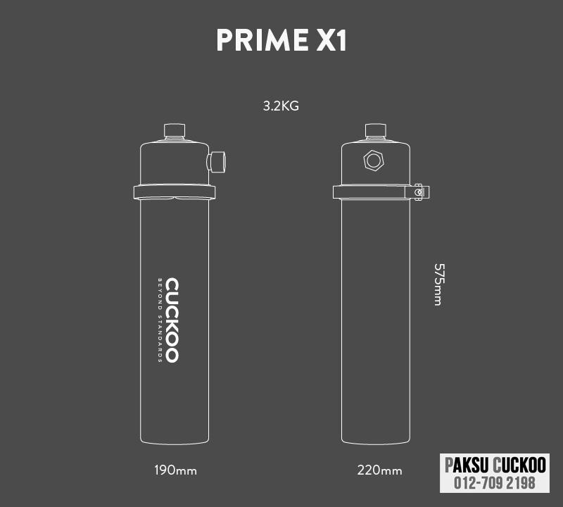 spesifikasi review dan maklumbalas dari pengguna testimoni pengguna penapis air luar rumah yang bagus terbaik berkualiti tinggi murah cuckoo prime x1 outdoor water purifier