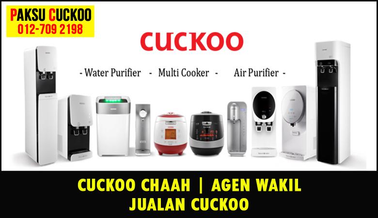 paksu cuckoo merupakan wakil jualan cuckoo ejen agent agen cuckoo chaah yang sah dan berdaftar di seluruh negeri johor