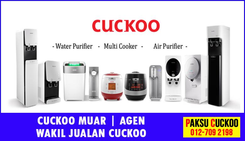 paksu cuckoo merupakan wakil jualan cuckoo ejen agent agen cuckoo muar yang sah dan berdaftar di seluruh negeri johor