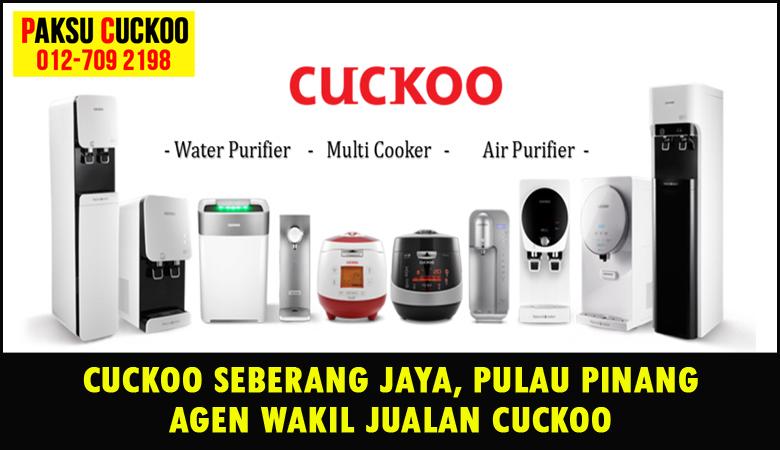 paksu cuckoo merupakan wakil jualan cuckoo ejen agent agen cuckoo seberang jaya yang sah dan berdaftar di seluruh negeri pulau pinang penang