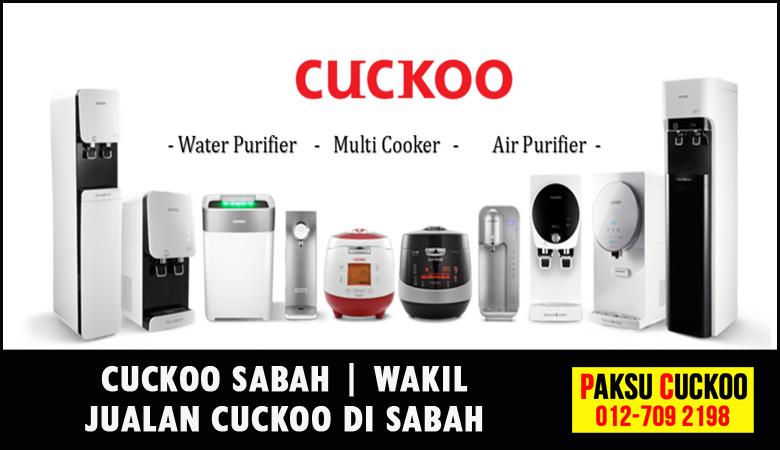 paksu cuckoo merupakan wakil jualan cuckoo sabah ejen agent agen cuckoo yang sah dan berdaftar di seluruh negeri sabah