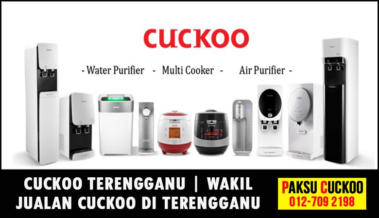 paksu cuckoo merupakan wakil jualan cuckoo terengganu ejen agent agen cuckoo yang sah dan berdaftar di seluruh negeri terengganu