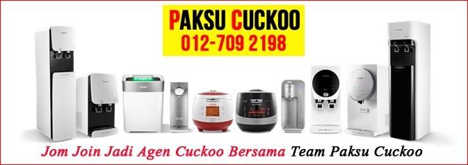jana pendapatan tambahan tanpa modal dengan menjadi ejen agent agen cuckoo di seluruh malaysia wakil jualan cuckoo Sungai Tong ke seluruh malaysia