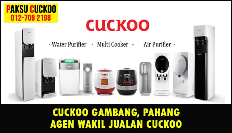 paksu cuckoo merupakan wakil jualan cuckoo ejen agent agen cuckoo gambang yang sah dan berdaftar di seluruh negeri pahang