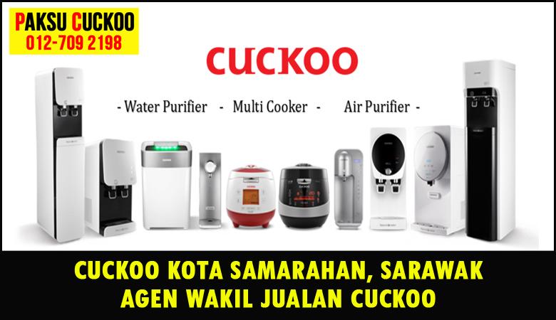 paksu cuckoo merupakan wakil jualan cuckoo ejen agent agen cuckoo kota samarahan yang sah dan berdaftar di seluruh negeri sarawak