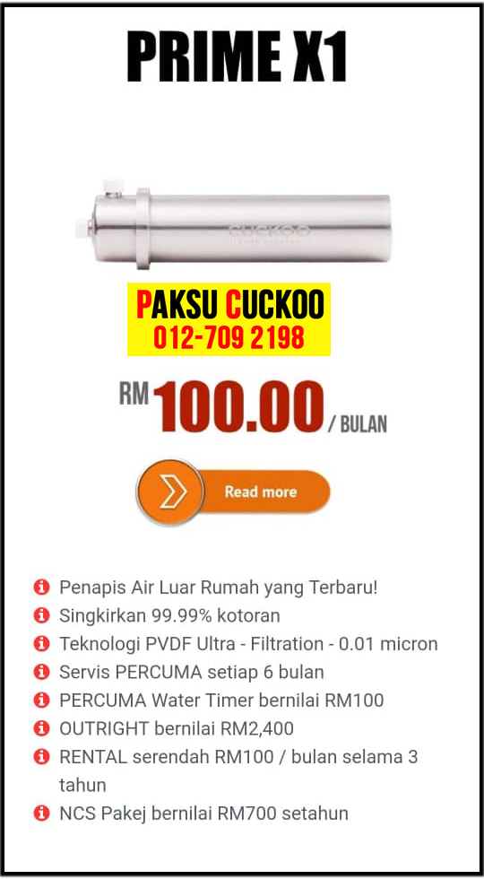 coway vs cuckoo kelemahan keburukan penapis air water filter purifier spesifikasi model review agent ejen agen Coway seluruh malaysia cuckoo prime x1 beli pasang sewa daftar penapis air coway