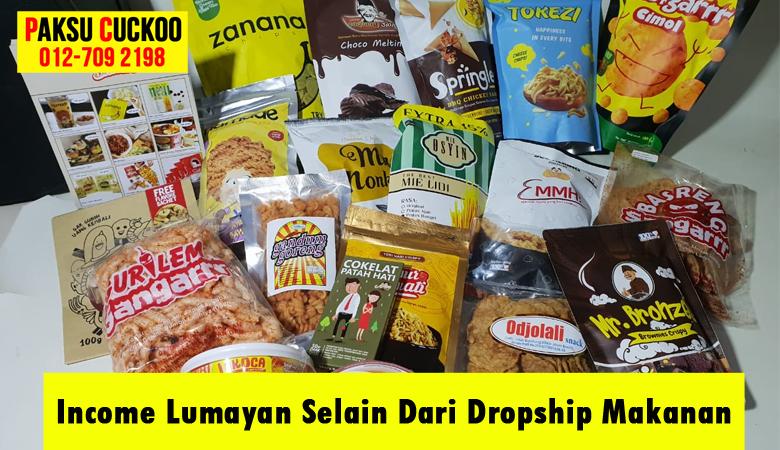 berkongsi peluang perniagaan bisnes yang menguntungkan lumayan dan trending masa kini selain dari bisnes dropship makanan produk makanan ringan snek kering dan viral di malaysia