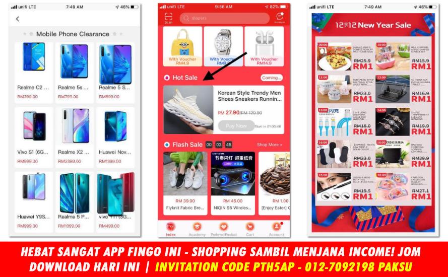 menjana pendapatan sambil shopping di app fingo 0127092198 paksu