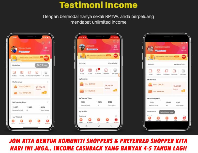 testimoni income fingo setiap hari terima komisyen cashback sen sen setiap hari 0127092198 paksu