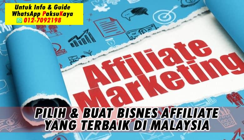 bagaimana cara memilih dan buat bisnes affiliate yang berjaya dan terbaik di malaysia buat income dengan affiliate fingo