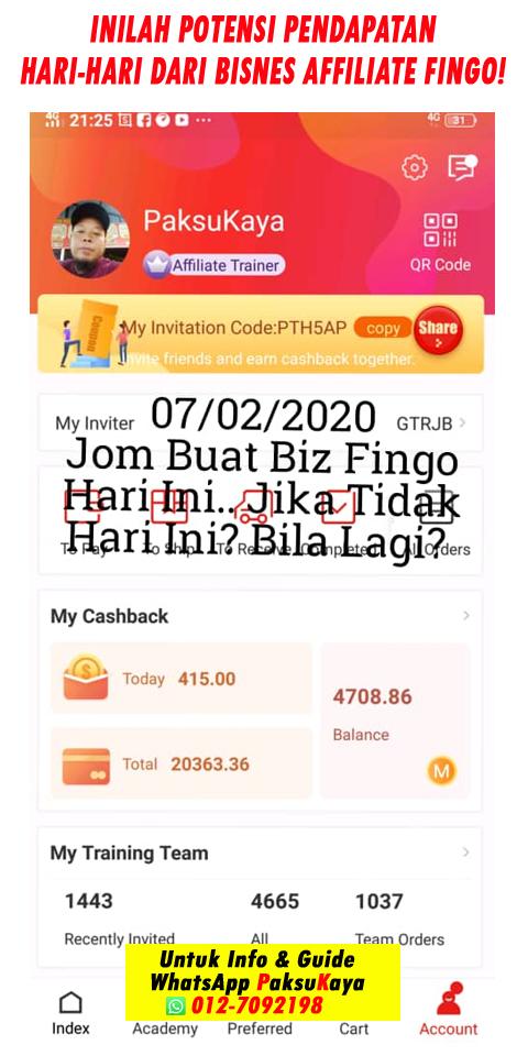 bagaimana cara memilih untuk menjana pendapatan dan income melalui perniagaan bisnes affiliate di malaysia fingo malaysia sdn bhd