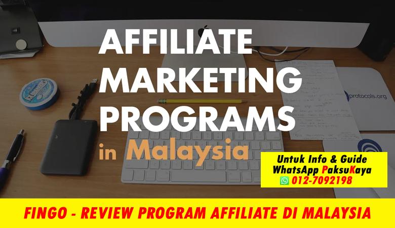 fingo malaysia sdn bhd menawarkan program affiliate di malaysia affiliate marketing