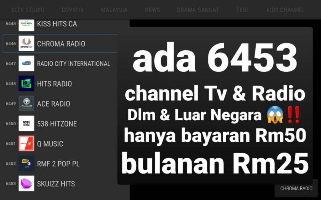 channel tv dan radio malaysia dan seluruh dunia dengan rm50 sahaja program affiliate starlight tv