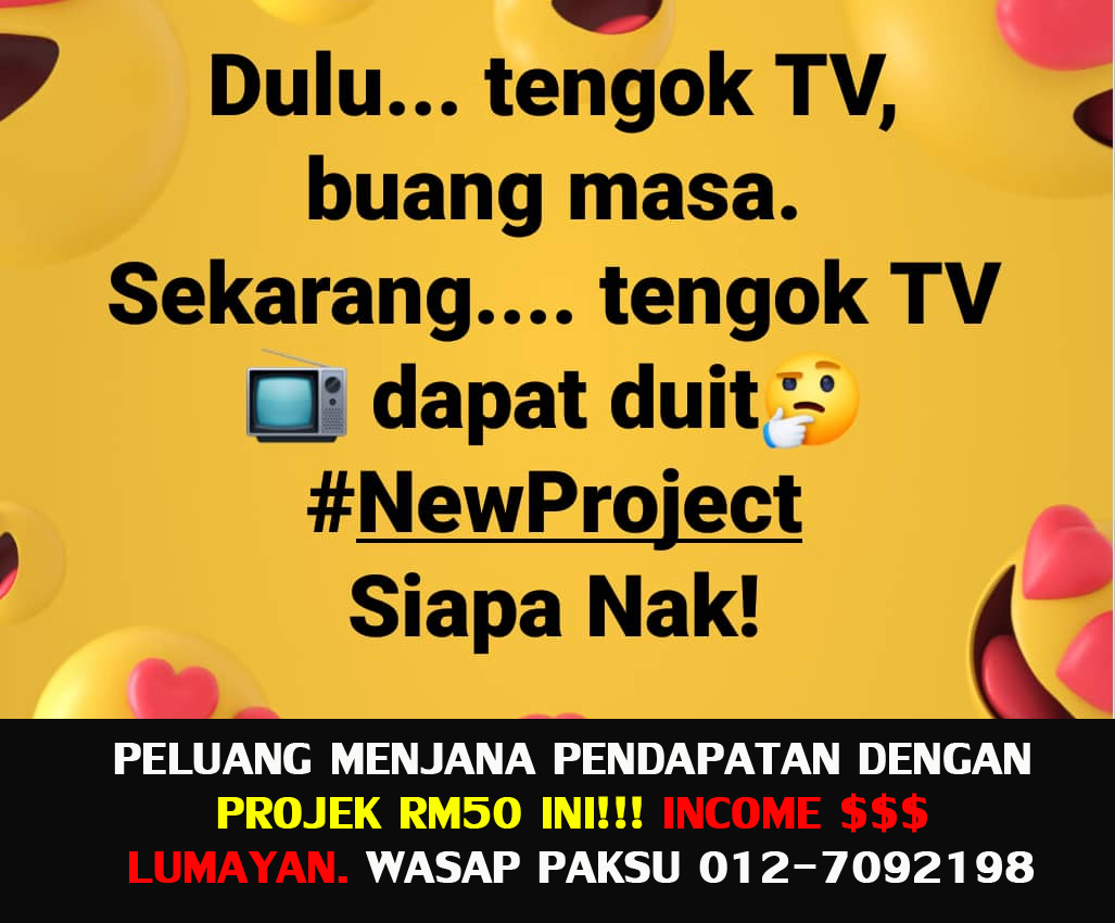 jana pendapatan tambahan extra income dengan projek rm50 starlight tv