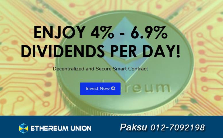 platform menjana pendapatan aset digital ethereum bitcoin setiap hari roi ethereum bitcoin di ethereum union