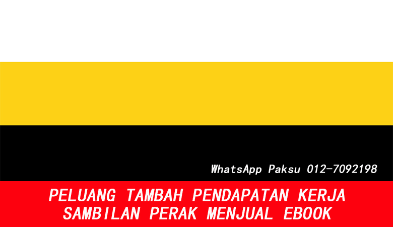 Peluang Tambah Pendapatan Kerja Sambilan Perak Dengan Menjual Ebook bisnes part time online dari rumah buat duit lebih jana extra income sampingan