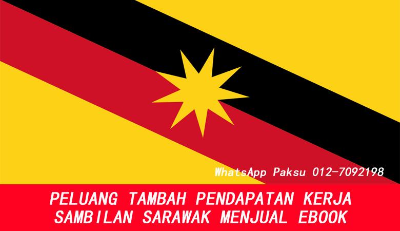 Peluang Tambah Pendapatan Kerja Sambilan Sarawak Dengan Menjual Ebook bisnes part time buat duit sampingan online dari rumah di sarawak