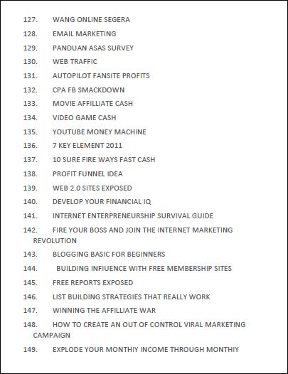 jana income part time kerja sampingan sambilan online tanpa modal yang lumayan side income dengan jual ebook