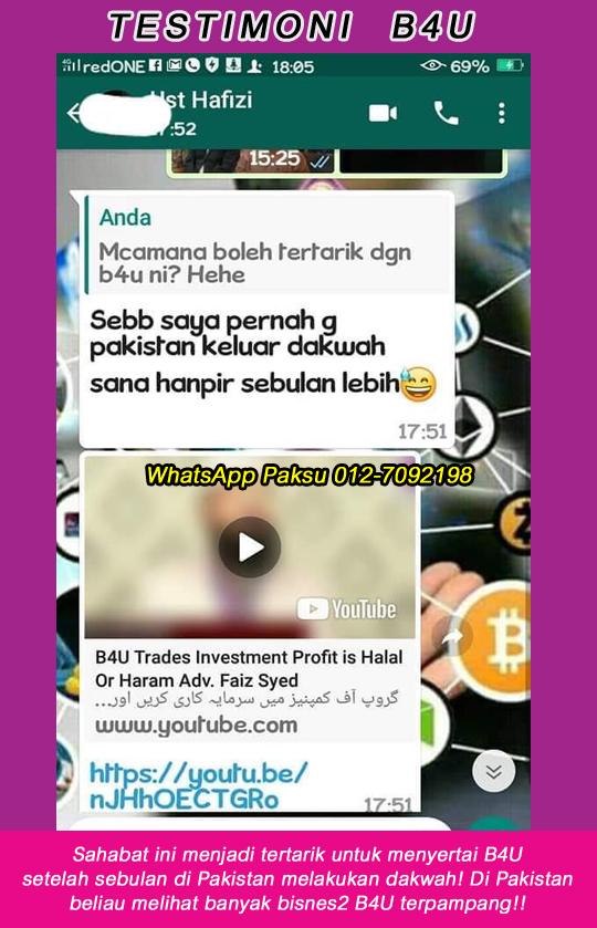 4 testimoni b4u trades global investment syarikat pelaburan terbaik syarikat yang bagus untuk melabur senarai syarikat pelaburan di malaysia