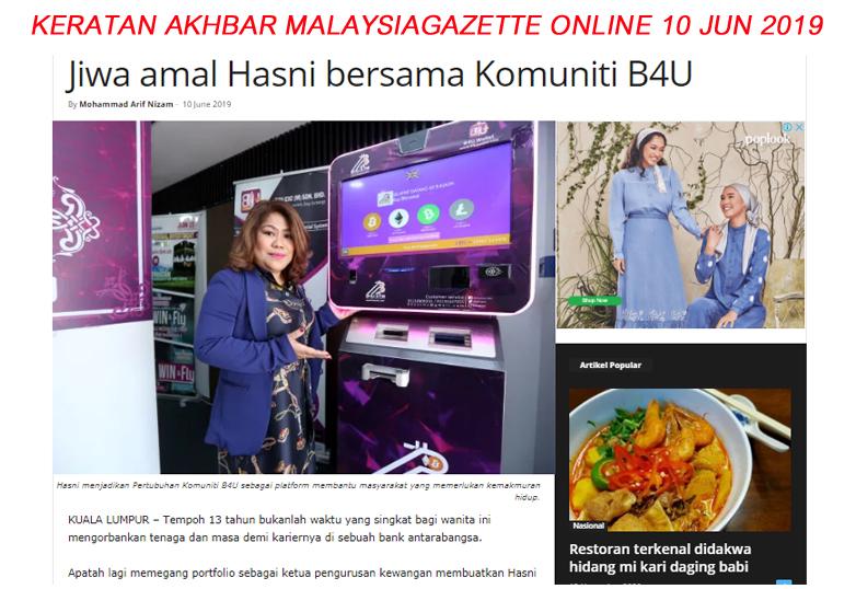 B4U trades investment global malaysia group of companies syarikat pelaburan dan perniagaan sah di malaysia patuh syariah shariah compliance berdaftar bank negara malaysia