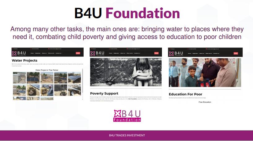 b4u foundation syarikat investment yang selamat di malaysia syarikat investment terbaik di malaysia buat duit pasif setiap bulan